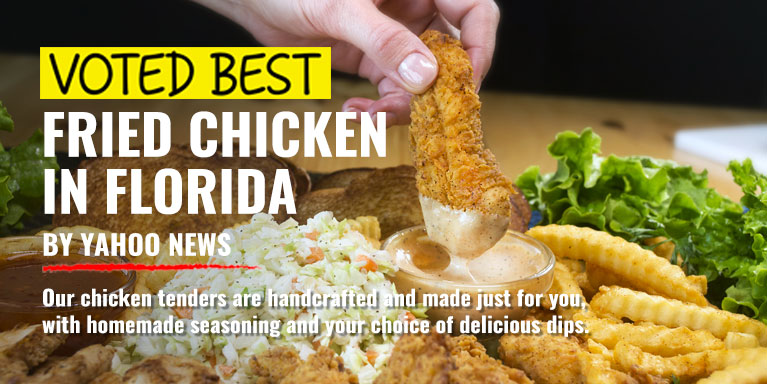 Huey Magoos Chicken Tenders Voted Best Fried Chicken In Florida