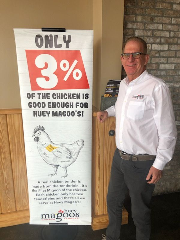 Huey Magoo's President and CEO Andy Howard